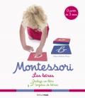 Montessori. las letras Incluye un libro y 27 tarjetas de letras