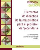 Elementos de didáctica de la matemática para el profesor de secundaria
