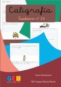Caligrafía. Cuaderno 20. Pauta Montessori