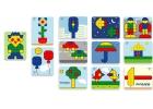 Láminas de modelos para mosaicos de pinchos superpegs (39 mm) Variado