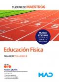 Educación física. Temario volumen 2. Cuerpo de maestros.
