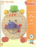 Reloj de madera Mr. Tic-toc