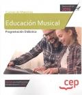 Cuerpo de maestros. Educación musical. Programación didactica