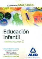 Educación infantil. Temario volumen 2. Cuerpo de maestros.