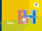 Cuaderno de letras 4. F,H,R,B