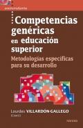 Competencias genéricas en educación superior. Metodologías específicas para su desarrollo