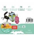 El Chacal y el erizo (Es,En,Fr,Pt) Cuento para Kamishibai A3 con CD