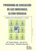 Programa de educación de las emociones: la con-vivencia. Cuaderno para el alumnado de 7 a 12 años.