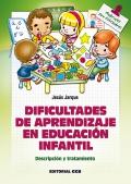 Dificultades de aprendizaje en educación infantil. Descripción y tratamiento.