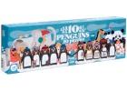 Puzle progresivo 10 Pingüinos. 55 piezas