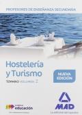 Hostelería y Turismo. Temario. Volumen 2. Cuerpo de Profesores de Enseñanza Secundaria.