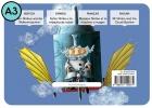 Señor Nimbo y la máquina de nubes. Cuento para Kamishibai A3 PRO (De/Es/Fr/En)