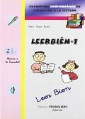 Leerbién- 1. Cuadernos Mediterráneo de animación a la lectura.