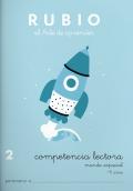 Rubio el arte de aprender. Competencia lectora 2. Mundo espacial. 8 años