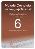 Método completo de lenguaje musical. Libro del profesor 6.