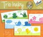 Puzzle trio baby colores