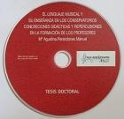 El lenguaje musical y su enseñanza en los conservatorios concrecines didácticas y repercusiones en la formación de los profesores. Tesis doctoral. ( CD )