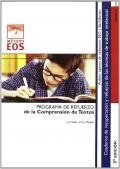 Comprensión de Textos. Programa de refuerzo de la Comprensión de Textos en la Escuela Secundaria