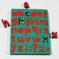 Esponjas estampación abecedario minúsculas