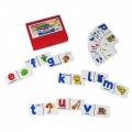 Dominó del alfabeto en inglés (Alphabet domino)