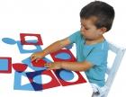 Formas geométricas translúcidas Montessori