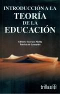 Introducción a la teoría de la educación.