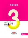 Cálculo 3. Cuadernos primaria.