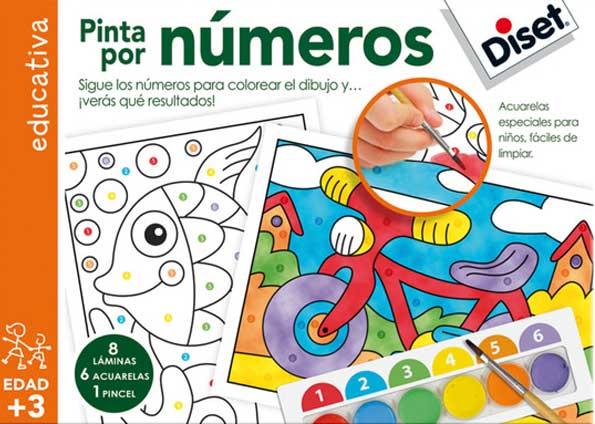 Pintar Por Numeros Sigue Los Numeros Para Colorear El Dibujo Y V