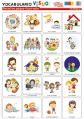 Láminas de vocabulario visual - Derechos