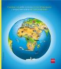 Atlas del mundo. Contiene un globo terrestre entres dimensiones y mapas interactivos de cada continente.