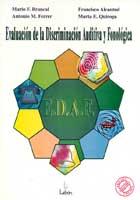 E.D.A.F. Evaluación de la discriminación auditiva y fonológica.