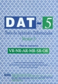 Hojas de autocorrección VR/NR/AR/MR/SR/OR del DAT-5. (25 unidades)