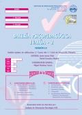 Cuadernillo y corrección de bateria psicopedagógica EVALÚA-2.