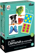 Domino foto animales reversible (domino photo animals)