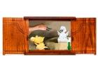 Paquete de teatro Kamishibai A4 con cuento El Patito feo - The ugly Duckling - Le vilain petit canard (Es/En/Fr)