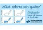 ¿Qué colores son iguales?
