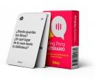 Ping Pong Literario. Libro-juego de conversación