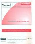 Vineland-3 Spanish parent/caregiver form - comprehensive version (paquete 25)