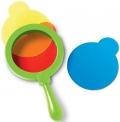 Lentes de mezcla de colores