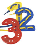 Números para hilar (40 piezas)