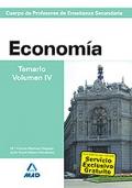 Economía. Temario. Volumen IV. Cuerpo de Profesores de Enseñanza Secundaria.