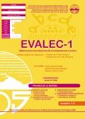 EVALEC-1. Batería para la Evaluación de la Competencia Lectora. (1 cuadernillo y corrección)