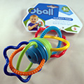 Clickity juguete para girar Oball