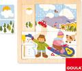 Puzzle invierno 16 piezas
