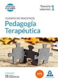 Pedagogía terapeútica. Temario volumen 1. Cuerpo de maestros.
