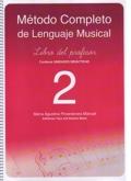 Método completo de lenguaje musical. Libro del profesor 2.