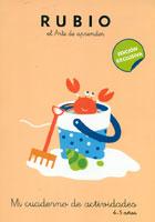 Rubio el arte de aprender. Mi cuaderno de actividades 4 - 5 años