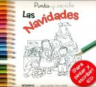 Pinta y escribe las navidades ¡Para pintar y escribir!