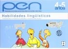 Habilidades Lingüísticas. Nivel 4-5 años. Programa de estimulación para niños de 4 a 6 años.