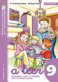 A leer 9. Aprender a leer y a escribir con la familia Cacho. Sinfones de L: fla, bla, pla, gla, cla.